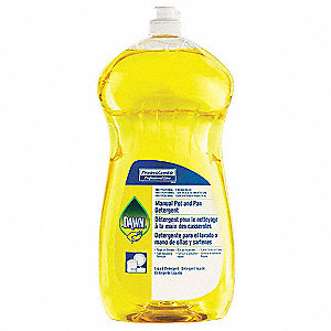 Liquid Dishwashing Detergent, 38 oz. Bottle, 8 PK