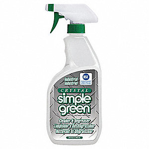 Cleaner/Degreaser, 24 oz. Bottle, Unscented Liquid, Ready to Use, 1 EA