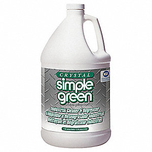 Cleaner/Degreaser, 1 gal. Bottle, Unscented Liquid, Concentrated, 1 EA