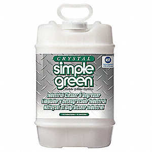 Unscented Non-Solvent Cleaner Degreaser, 5 gal. Jug