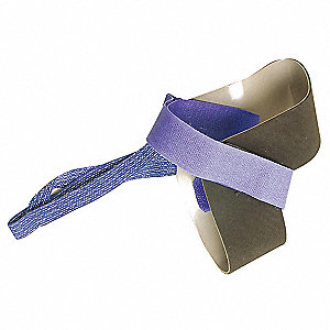 Heel Grounding Strap,Adj,1 ft,2 Megohms