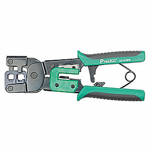 "8""L Ratcheting Crimper, RJ11 and RJ14"