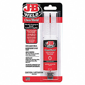 EPOXY SYRINGE J-B CLEARWELD 25ML