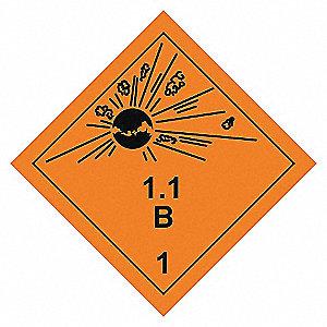 LABELS 4X4 500/RL CLS 1 DIVS 1B