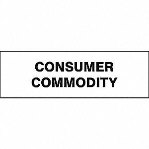 LABELS 1.25X4 1000/RL CONSUMER COMM