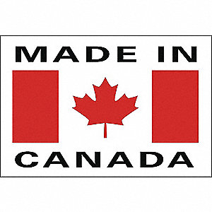 LABELS 2X3 1000/RL MADE IN CANADA