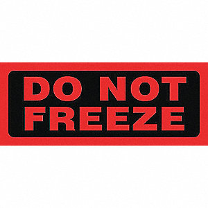LABELS 2X5 500/RL DO NOT FREEZE