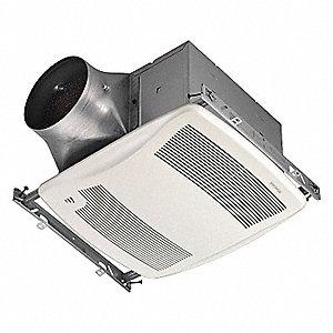 broan 10 1 2 x 11 3 8 x 7 5 8 bathroom fan 110 cfm 0 4 amps 22cv95 xb110h grainger