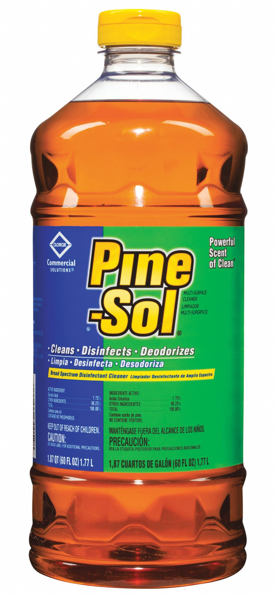 Disinfectant Cleaner,  60 oz Cleaner Container Size,  Bottle Cleaner Container Type,  Pine Fragrance