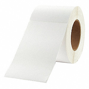 Label,White,Polyolefin,PK4