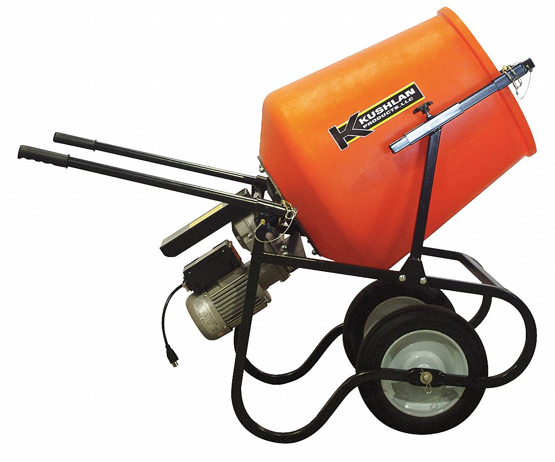 Epoxy Mixer, 3.5 cu ft, 115V, 3/4HP