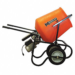 Epoxy Mixer,3.5 cu ft,115V,3/4HP