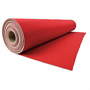 Floor Protection,27 In. x 180 Ft.,Red