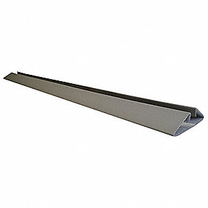 "6 ft. x 6"" Plastic Door Frame Protection, Gray"