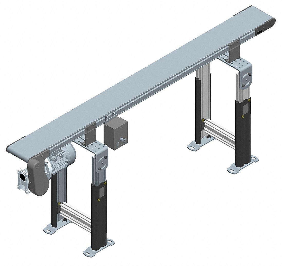 Powered belt conveyors tools for shop Motorized conveyor belt