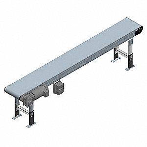 Modular Belt Conveyor, 10 ft. L, 14 In W