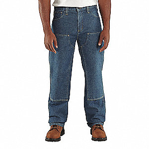 FR UTILITY DENIM DOUBLE FRONT JEAN