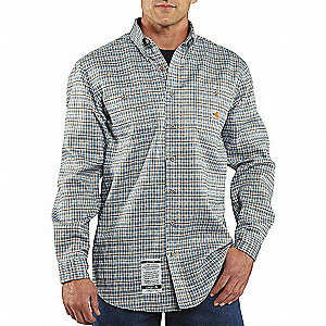 FR WORK-DRY PLAID TWILL SHIRT