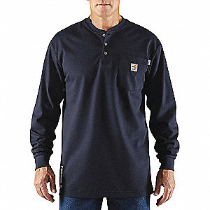 FR COTTON FORCE LONG SLEEVE HENLEY