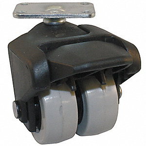 "2"" Plate Caster, 150 lb. Load Rating"