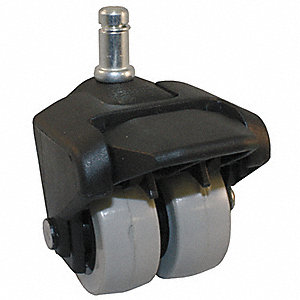 "2"" Light-Duty Swivel Stem Caster, 150 lb. Load Rating"