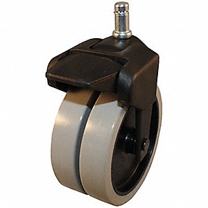 "4"" Light-Duty Swivel Stem Caster, 150 lb. Load Rating"