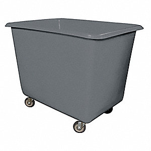 "Cube Truck, 1/4 cu. yd. Volume Capacity, 600 lb. Load Capacity, 24"" Overall Width"