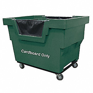 "Cube Truck, 7/8 cu. yd. Volume Capacity, 1000 lb. Load Capacity, 31-3/4"" Overall Width"