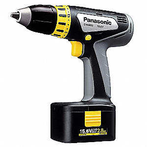 "15.6VN NiMH 1/2"" Cordless Drill/Driver Kit, Battery Included"