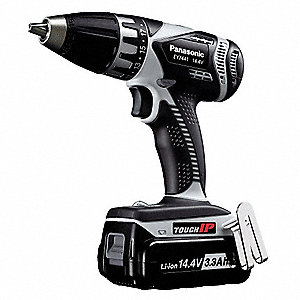 "14.4V ToughIP Li-Ion 1/4"" Cordless Drill/Driver Kit, Battery Included"
