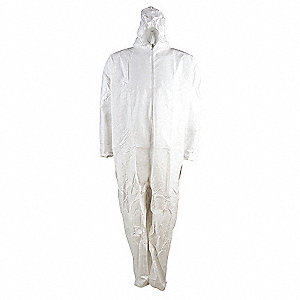 COVERALL PREM HOOD/BOOT,S