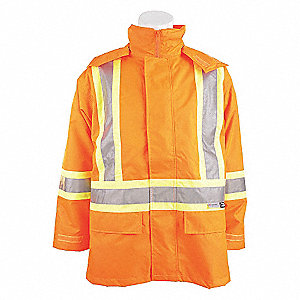 JACKET TRAFFIC 3-IN-1 ORANGE 6XL