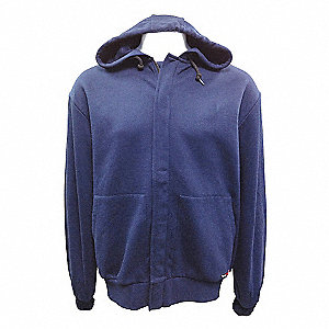 SWEATSHIRT HOODED FR NAVY 6XLT