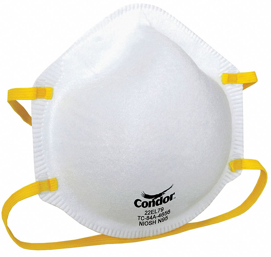 Disposable Universal Pk20 N95 Respirator