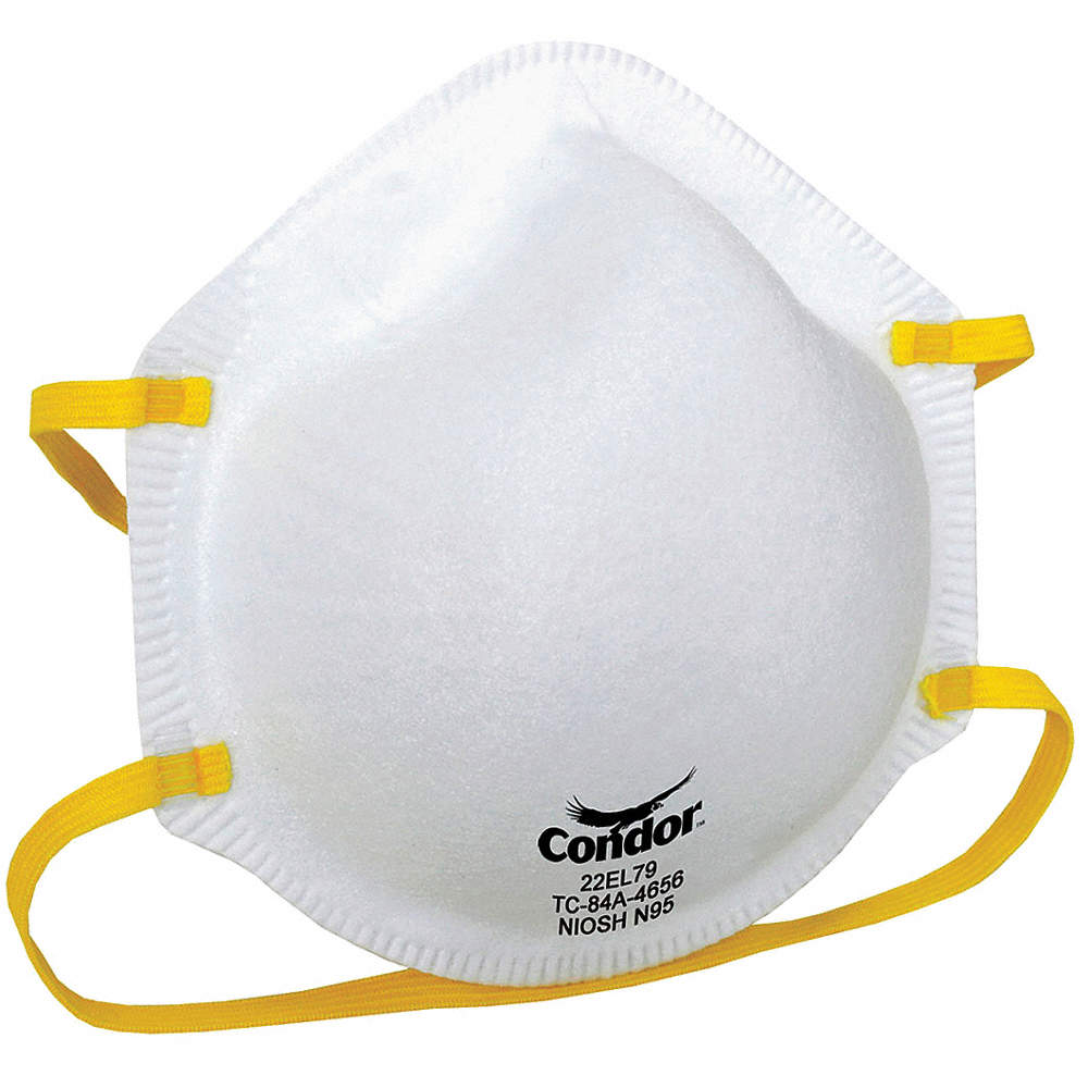 Respirator Universal N95 Pk20 Disposable