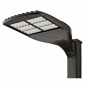 LED Area Light,131W,Type V,Square Pole