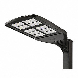 LED Area Light,282W,Type III,Square Pole