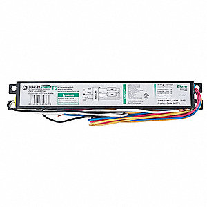 Electronic Ballast, 24 Max. Lamp Watts, 120/277 V, Programmed