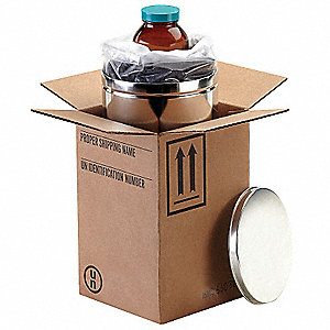 HAZMAT Shipping Kit,8 oz. Bottle,PK4