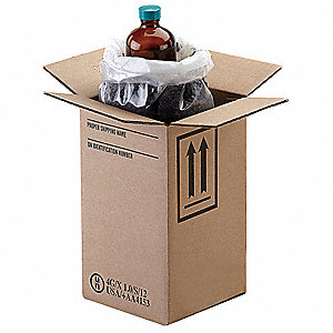HAZMAT Shipping Kit,8 oz. Bottle,PK12