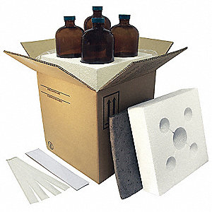 HAZMAT Shipping Kit,(4) 16oz Bottles,PK4