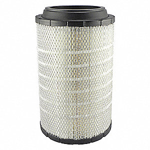 "Air Filter, Radial, 16-5/32"" Height, 16-5/32"" Length, 9-1/8"" Outside Dia."