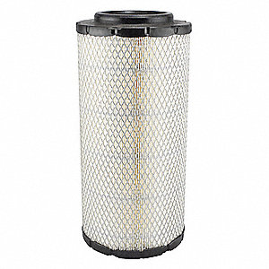 "Air Filter, Radial, 13-21/32"" Height, 13-21/32"" Length, 6-13/32"" Outside Dia."