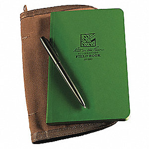 FIELD BOOK KIT GREEN
