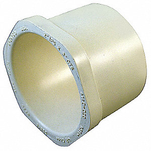 "Schedule SDR-11 CPVC Transition Bushing, CTS, 1-1/4"" Pipe Size, IPS X CTS Hub Fitting Connection Typ"