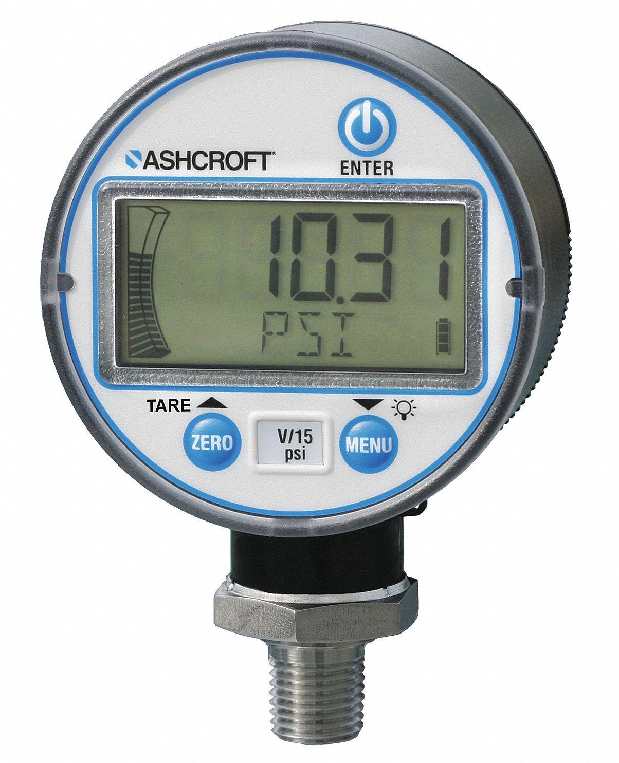 0 to 30 psi Digital Pressure Gauge, 2-1/2