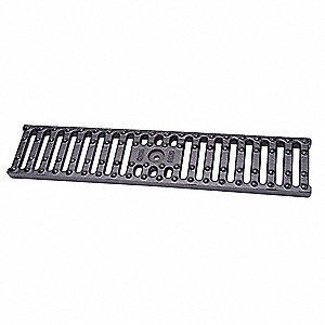 Cast Iron Black Floor Drain Grate Pipe Dia., Drop In Connection - Drains