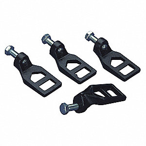 ROOFING LOCK DOWN LUGS,2-7/8 IN L