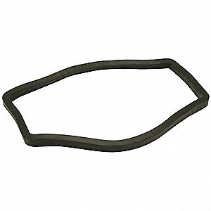Interceptor Gasket, Rubber, For Use With P1180-PVC-SCREEN,Z1180-2IP