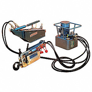 Hydraulic Cable Hoist, 28,000 lb. Lifting Capacity, Unlimited Cable Length